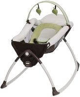 Graco Little LoungerTM Rocking Seat + Vibrating Lounger in Go GreenTM