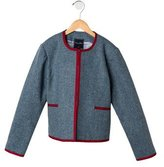 Oscar de la Renta Girls' Wool Jacket