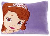 Disney Sofia the First Toddler Throw Pillow in Purple