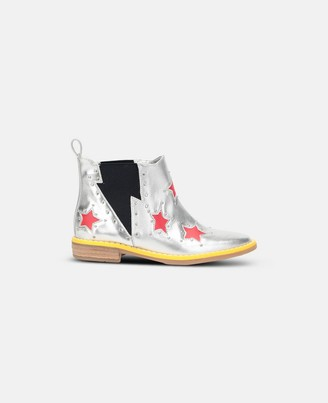 Stella Mccartney Kids Stella McCartney red stars booties
