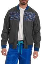 Robert Graham Men's Sharpy Reversible Bomber Jacket