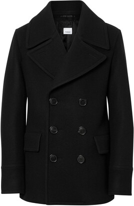 Burberry Wool Blend Pea Coat
