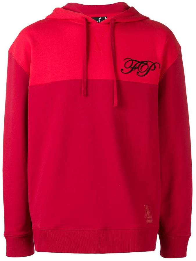Fred Perry embroidered logo hoodie