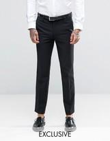 Farah Skinny Tuxedo Trousers