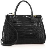 Nancy Gonzalez Soft Medium Crocodile Tote