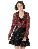 The Kooples Women's Women's Giant Poppy Print Button-Down Blouse