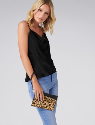 Forever New Kita Zip Top Clutch - Leopard Print - 00