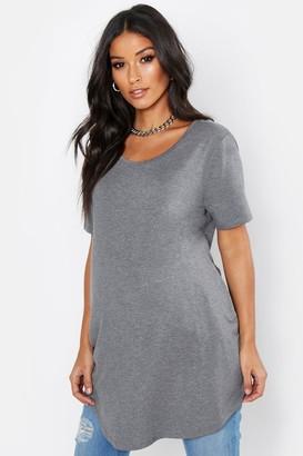 boohoo Maternity Oversized Basic T-Shirt