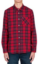Volcom 'Gaines' Plaid Flannel Shirt
