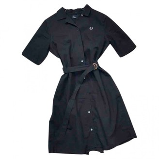 Fred Perry Navy Cotton Dress for Women