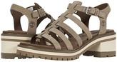 Timberland Violet Marsh Fisherman Sandal (Olive Nubuck) Women's Shoes