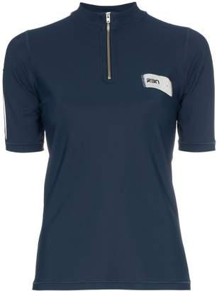 Bjorn Borg RBN X zip neck logo label polo shirt