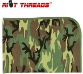 Camo Riot Threads 2450 Infant Woodland Reveiving Blanket