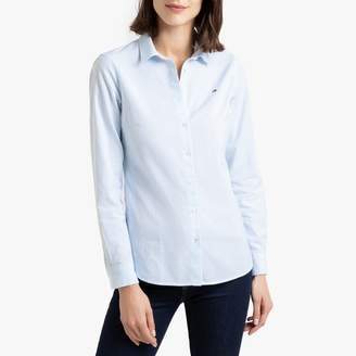 Tommy Hilfiger Cotton Long-Sleeved Fitted Shirt