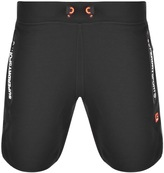 Superdry Sport Gym Shorts Black