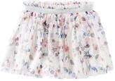 Osh Kosh 2-Piece Floral Tulle Skirt