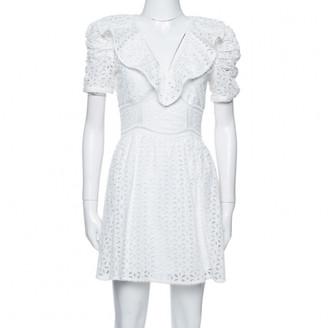 Self-Portrait White Linen Dresses