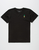 Riot Society Embroidered Pineapple Boys T-Shirt