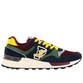 Polo Ralph Lauren Sneakers Sneakers Trackster 100 In Leather Suede And Micro-net