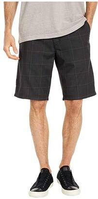 O'Neill Westmont Plaid Shorts (Black) Men's Shorts