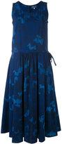 Blue Blue Japan floral print dress