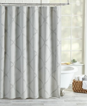 Peri Home Peri Homeworks Lattice Shower Curtain Bedding
