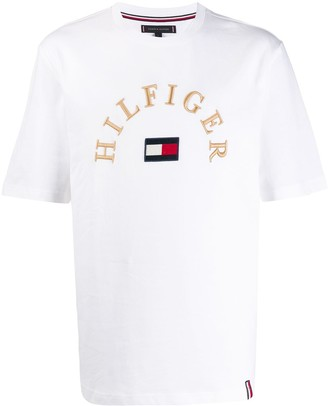 Tommy Hilfiger embroidered logo T-shirt