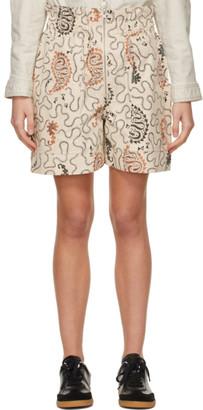 Etoile Isabel Marant Beige Nawel Shorts