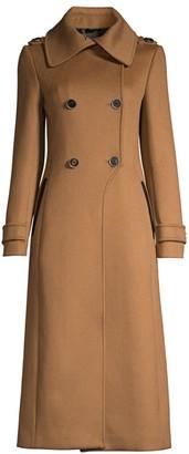 Mackage Elodie Double-Breasted Wool Coat