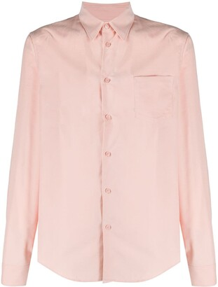 Kenzo Long-Sleeve Cotton Shirt
