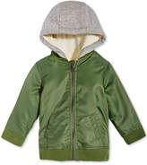 First Impressions Hooded Bomber Jacket, Baby Boys, Created for Macy's