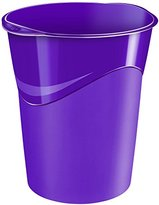 CEP 14 Litre 280 G Gloss Waste Bin Set - Deep Purple (Set of 12)