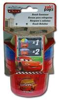 Cars Disney McQueen 3-Piece Set Snack N Store Food Storage Container