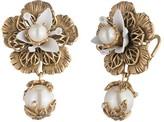Marchesa Flower Drop Earrings