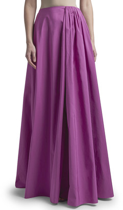 Valentino Pleated High-Rise Maxi Skirt