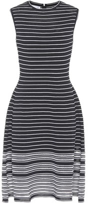 Oscar de la Renta Striped A-line dress