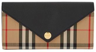Burberry Halton envelope wallet