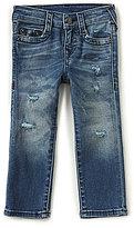 True Religion Little Boys 2T-7 Geno Destructed Jeans