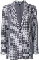 Giorgio Armani woven straight-fit jacket