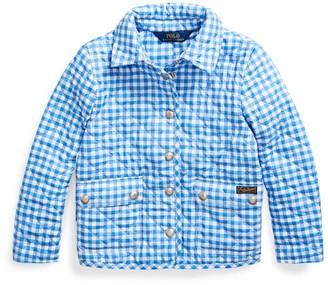 Ralph Lauren Gingham Water-Repellent Jacket