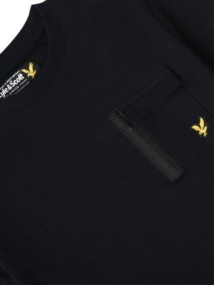 Lyle & Scott Boys Short Sleeve Chest Pocket T-Shirt - Black