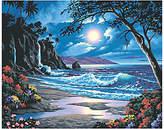 Dimensions Paint-by-Number Kit - Moonlit Paradise