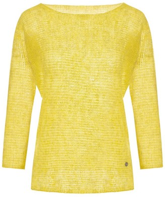 You By Tokarska Fog Kimono Blouse Yellow