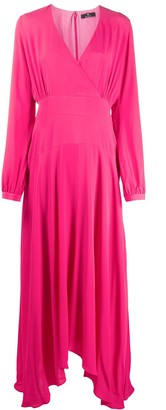 Paul Smith wrap front maxi dress