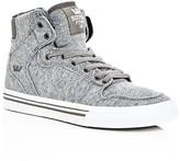 Supra Boys' Vaider Jersey High Top Sneakers