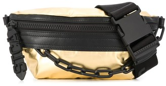 Just Cavalli Chain Detail Belt Bag