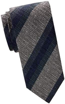 Brioni Regimental Stripe Silk Tie