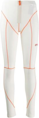 Heron Preston contrast stitched CTNMb leggings