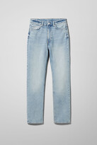 Thumbnail for your product : Weekday Case High Straight Jeans - Blue