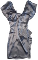CNC Costume National Anthracite Silk Dress for Women